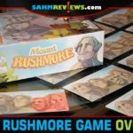 Match the monument heads on the search deck to the ones in the grid in Mount Rushmore card game from Strawberry Studio, an imprint of Board & Dice. - SahmReviews.com