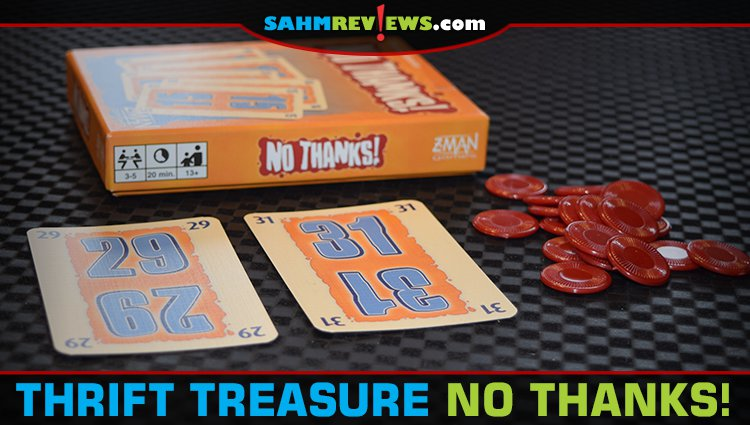 Thrift Treasure: No Thanks! Card Game