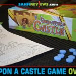Build a castle during game night with Once Upon a Castle roll and write game from Blue Orange Games. - SahmReviews.com