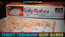 Thrift Treasure: Quip Qubes Game