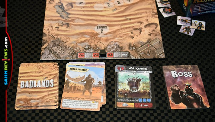 Avoid bad guys, scavenge and loot in Remnants board game from Fireside Games. - SahmReviews.com