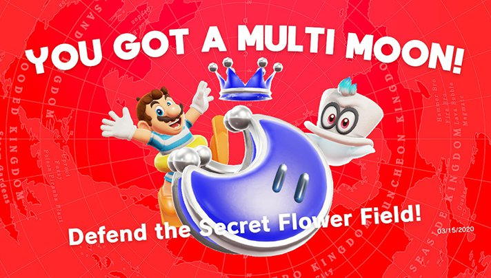Super Mario Odyssey isn't a restrictive game. Enjoy challenges as you explore a huge universe to find Peach and Bowser and stop their planned wedding! - SahmReviews.com