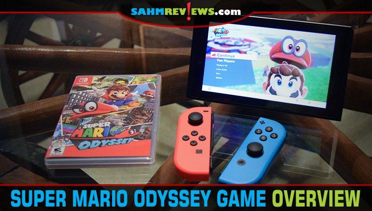 Nintendo Super Mario Odyssey Overview