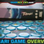 Cast your line and reel in the details about Tonari, a set-collection game from IDW Games. - SahmReviews.com