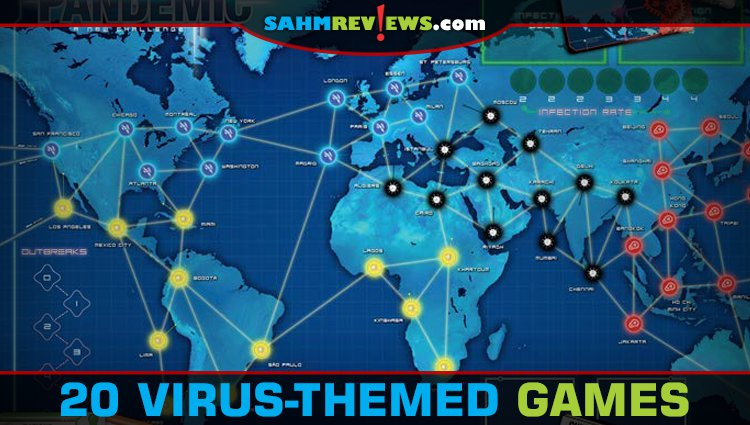 20 Thematic Board Games to Play During Your Quarantine