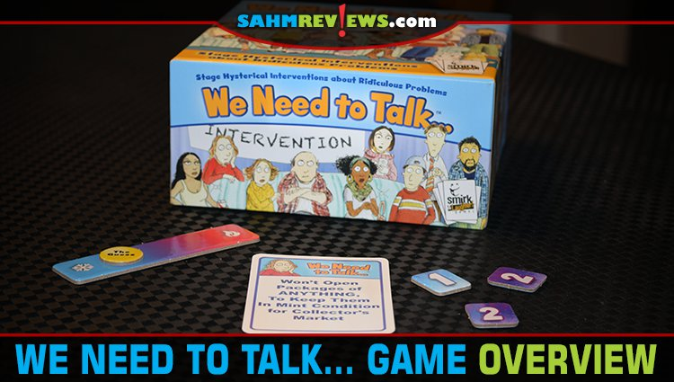 We Need to Talk… Party Game Overview