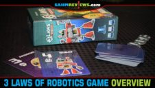 3 Laws of Robotics Hidden Role Card Game Overview