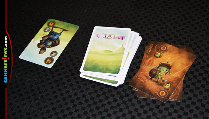 We're still on our 2-player game kick and enjoying the new Claim by Deep Water Games. Winning a trick isn't enough - you have to win the faction too! - SahmReviews.com