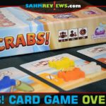 It seemed appropriate to take a copy of Crabs! by Daily Magic Games to the beach with us this past Christmas. That way we could all go crab fishing! - SahmReviews.com