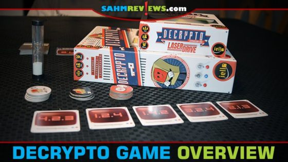 Decrypto Deduction Game and Laser Drive Expansion Overview