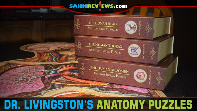 Dr. Livingston's Anatomy Jigsaw Puzzle Overview