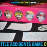 If you've seen an episode of The Joy of Painting, you'll want the Happy Little Accidents game. You will summon your inner-Bob by turning doodles into art! - SahmReviews.com