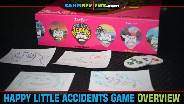 Happy Little Accidents Drawing Game Overview