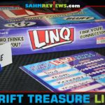 This week's Thrift Treasure, LINQ, is a word game where the word doesn't matter. You have to figure out the two players who know the word! - SahmReviews.com