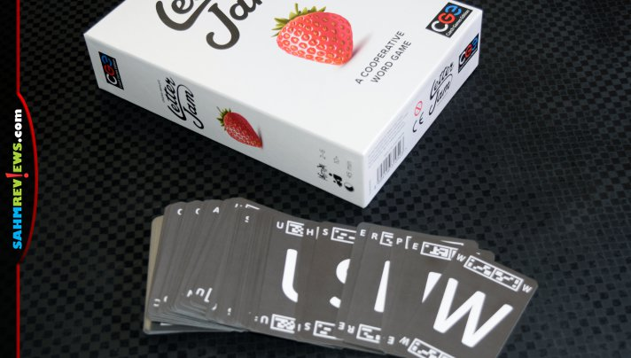 Coordinate your word-building skills as a team to decipher hidden words in Letter Jam cooperative word game from Czech Games Edition. - SahmReviews.com