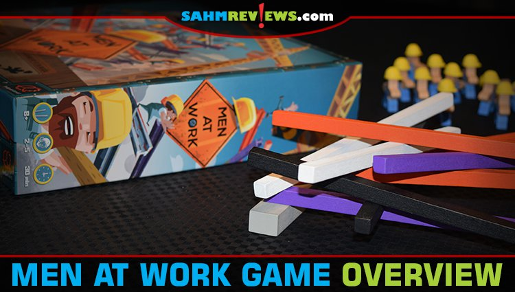 Men at Work Dexterity Game Overview