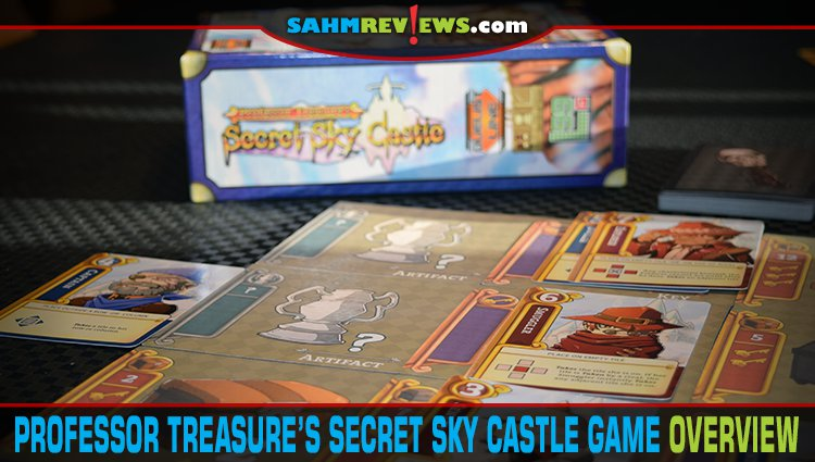 Professor Treasure's Secret Sky Castle Game Overview