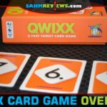 It's almost like the regular version of Qwixx, but with cards instead of dice. Personally, I think I prefer this card version by Gamewright Games more! - SahmReviews.com