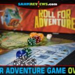 Work together with your teammates to collect power stones and defeat the Master of Shadows in Roll for Adventure cooperative game from Kosmos. - SahmReviews.com