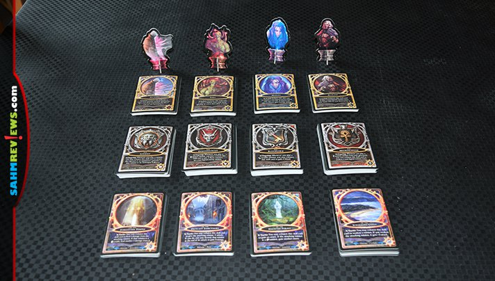 Sorcerer is a card battle game from White Wizard Games and offers duel, multiplayer and team options. - SahmReviews.com