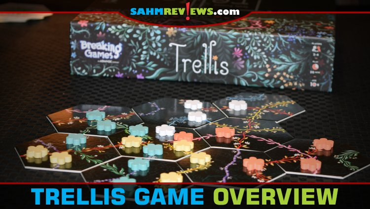 Trellis Tile-Laying Game Overview