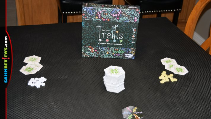 Plant vines and bloom flowers in Trellis, a tile-laying game from Breaking Games. - SahmReviews.com