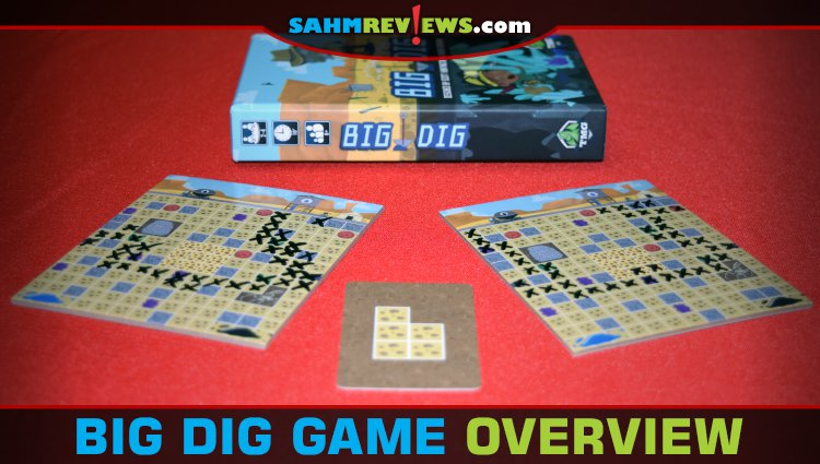 Big Dig Choose-n-Write Game Overview