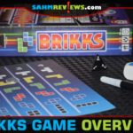 Brikks from Stronghold Games is an analog, roll-and-write take on the popular tetromino-dropping game we all are familiar with. - SahmReviews.com