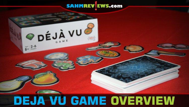 Déjà Vu Memory Game Overview