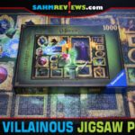 Plan to spend some time when you open a Ravensburger jigsaw puzzle, but their line of Disney Villainous puzzles may bring family to the table to help! - SahmReviews.com