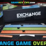 Normally games about the stock market are dry. Not so with Exchange by Bicycle Games. Every round you have to predict what the others say they're doing! - SahmReviews.com