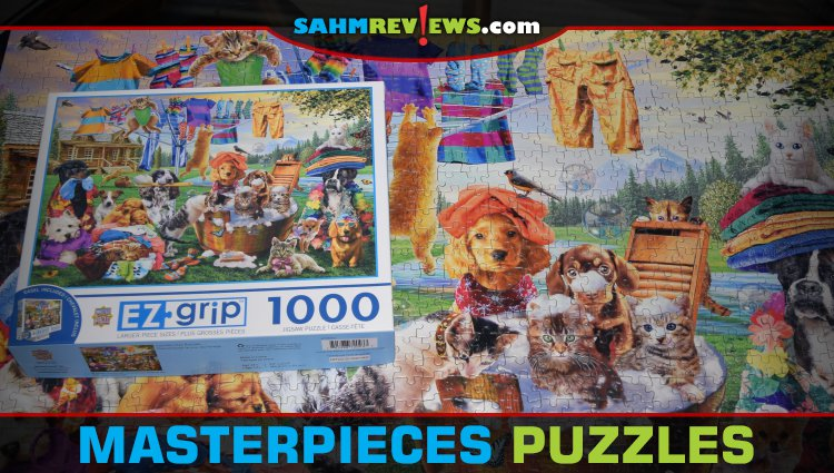 Colorful Puzzles from MasterPieces