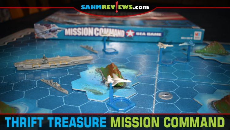 Thrift Treasure: Mission Command Sea Game