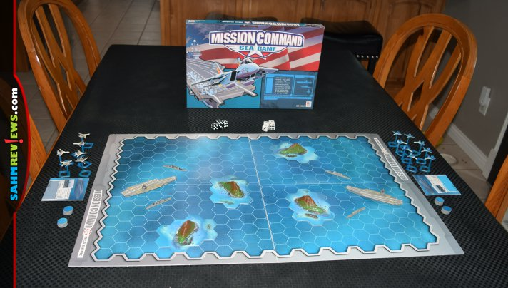 Games at thrift are usually mass market titles. Every once in a while we find a war or strategy game. This week's Thrift Treasure is Mission Command: Sea! - SahmReviews.com