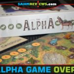 We've played games as hungry wolves before, but those were usually werewolves. The Alpha by Bicycle Games uses traditional wolves and they are very hungry! - SahmReviews.com