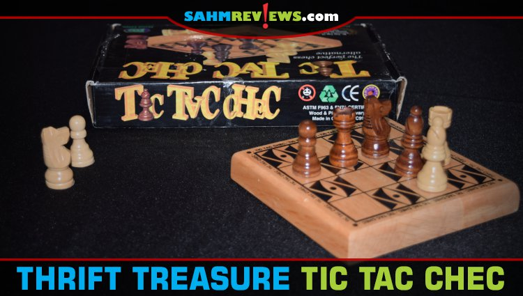 Thrift Treasure: Tic Tac Chec Game