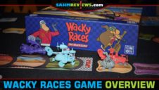 Wacky Races Board Game Overview