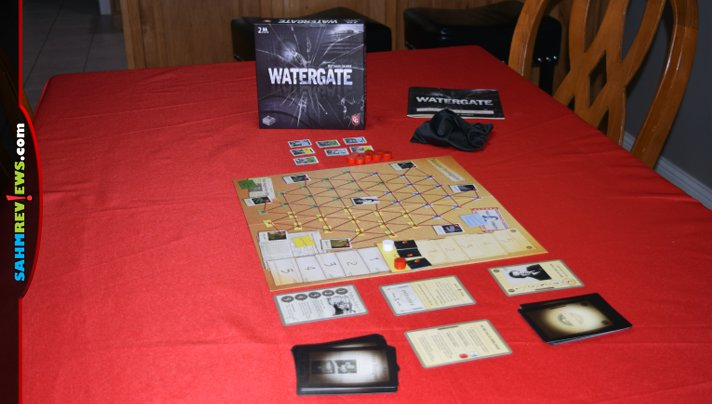 Immerse yourself in a historical point in United States politics by playing Watergate, a 2-player game from Capstone Games. - SahmReviews.com