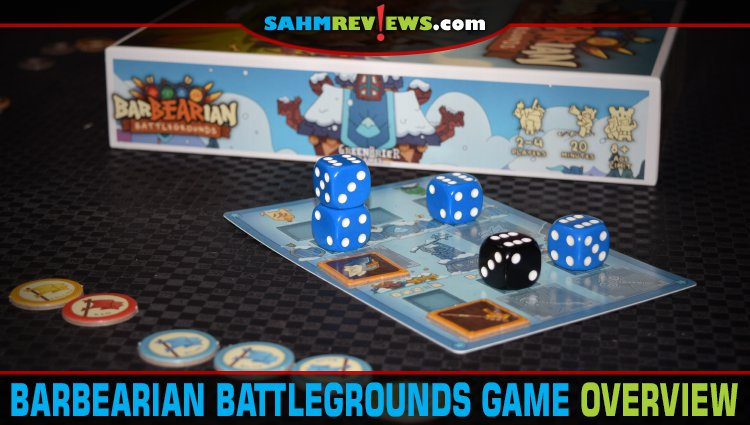 BarBEARian Battlegrounds Dice Game Overview
