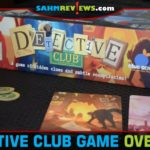 Use your skills of deduction to flush out the Conspirator and earn a spot in the Detective Club in this social party game from Blue Orange Games. - SahmReviews.com