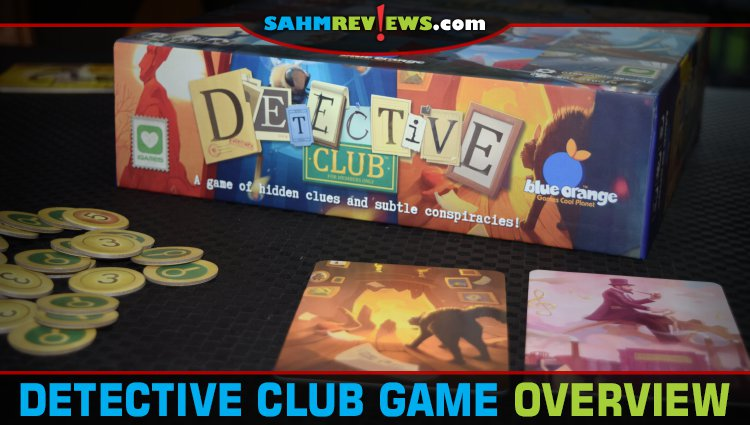 Detective Club Party Game Overview