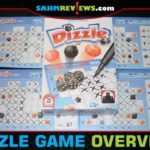 Carefully draft and place dice to see if you can score the most points in Dizzle, a roll-and-write game from Stronghold Games. - SahmReviews.com