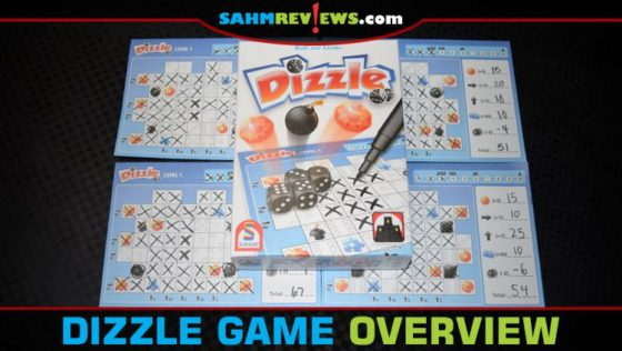 Dizzle Roll and Write Game Overview