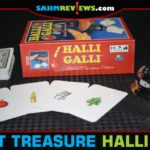 This version of Halli Galli by Rio Grande Games is the Christmas version set out at thrift for their annual Christmas in July sale. Our timing was perfect! - SahmReviews.com