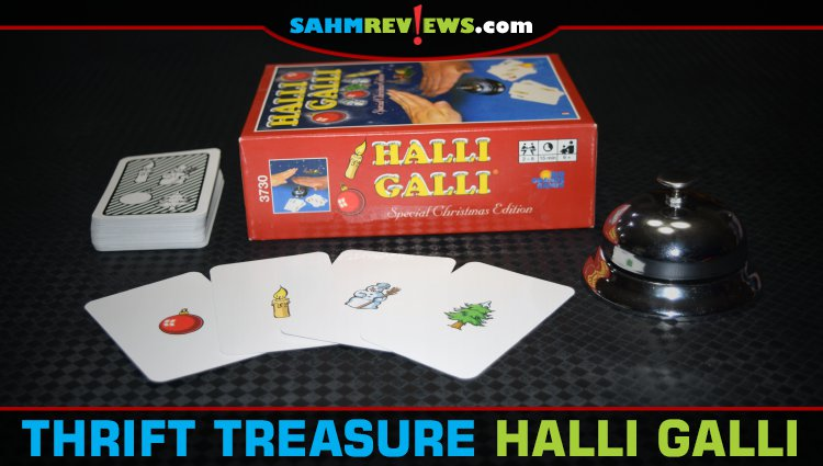 Thrift Treasure: Halli Galli Game