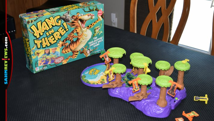 If a picture is worth 1000 words, this video that shows how a game of Hang in There! is played should be priceless. And it only cost $1.88 at thrift! - SahmReviews.com
