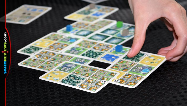 Draft cards and build your province in Hokkaido card game, the second installment in the Honshu series from Renegade Game Studios. - SahmReviews.com