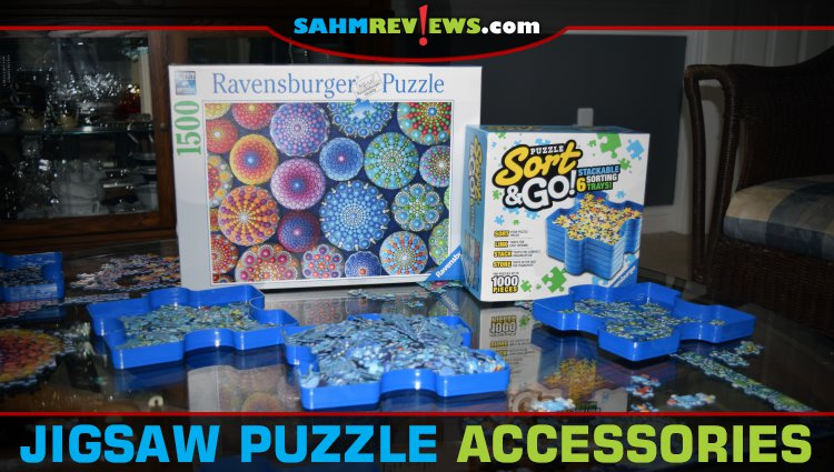 Jigsaw Puzzle Accessories: Sorting Trays