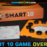 Smart 10 trivia game from Bananagrams is a pass and play take on the genre and includes a mix of multiple choice, true/false and other trivia. - SahmReviews.com