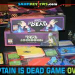 Work together with your crewmates to repair the ship and jump out of danger in The Captain is Dead cooperative game from Alderac Entertainment Group. - SahmReviews.com